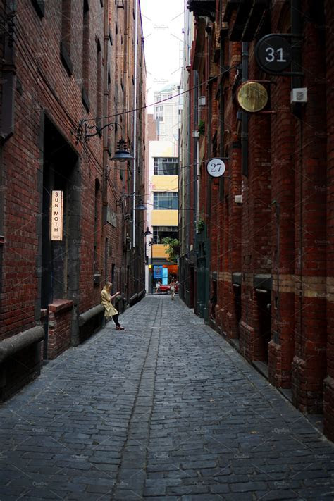 Melbourne Alleyway ~ Architecture Photos ~ Creative Market