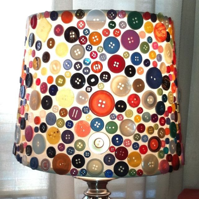 Impressive Craft Ideas With Buttons.  Not sure if this should be moved to 'Obsessions'.......