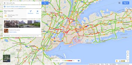 Google Traffic Wikipedia