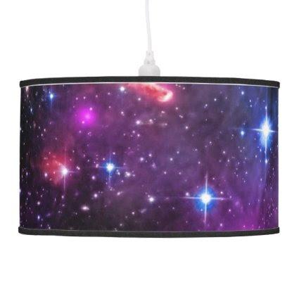 Monogram Starry Wingtip of Small Magellanic Cloud Pendant Lamp