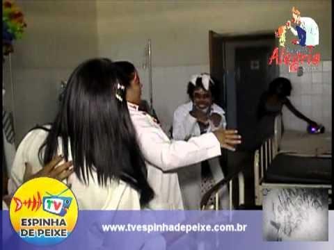 WEB TV ESPINHA DE PEIXE - DOUTORES DA ALEGRIA - HOSPITAIS JULIETA E SENHOR DO BOMFIM - XIQUEXIQUE-BA