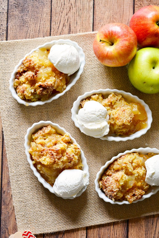 Quick and Easy Apple Cobbler by The Gracious Wife