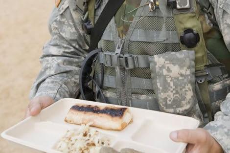 El sandwich 'inmortal' es similar al de la imagen.  US Army