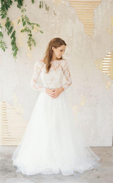 Wedding dresses,lace wedding dress,long sleeve bridal gown