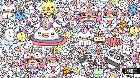 doodle cute wallpapers wallpaper cave