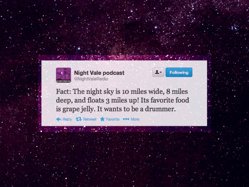 Welcome To Night Vale обои Night Vale Quote обои And Background фото