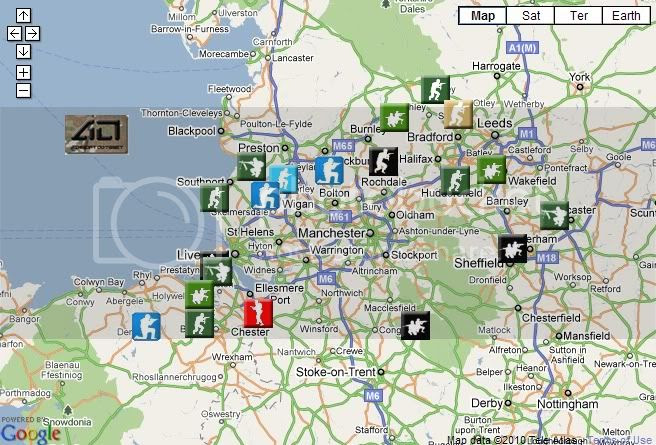 North West Airsoft Map