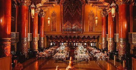 vintage theater wedding   Emerald City Designs uses