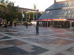 Kenmore Square station, street level