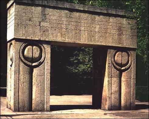 Poza cu Poarta Sarutului, imagini cu monumente