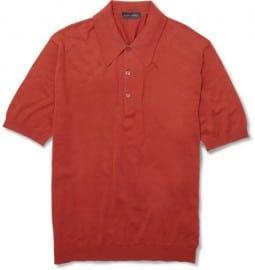 John Smedley Isis Sea Island Cotton Polo Shirt