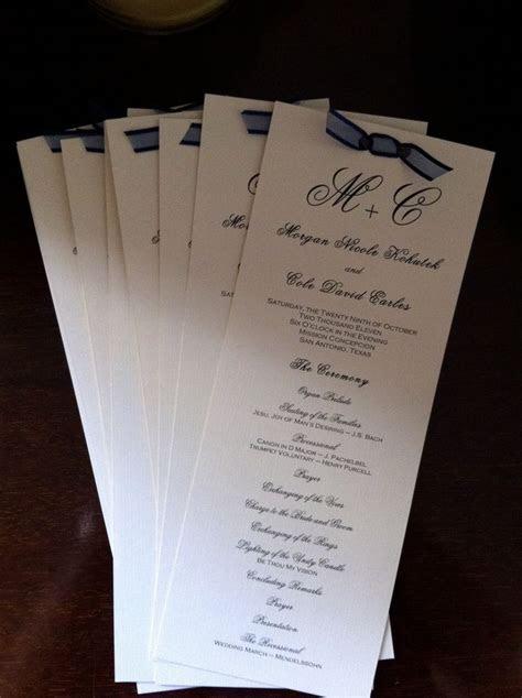 ideas  diy wedding programs  pinterest