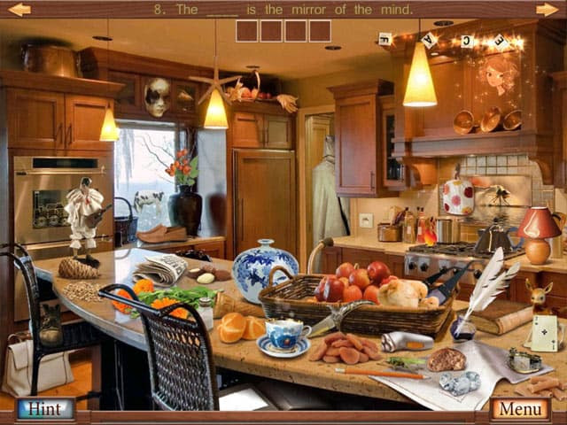 Hidden Object Crosswords Free PC Game Screenshot