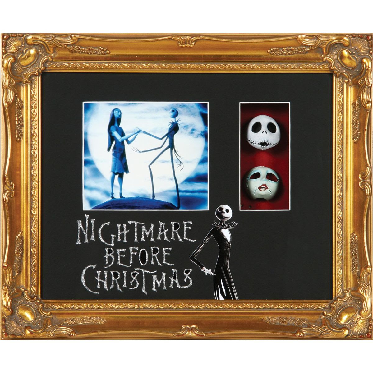 Screen Used Jack And Sally Faces From The Nightmare Before Christmas