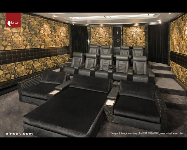 CINEAK Fortuny & Cosymo Home Theater - modern - home theater - by ...