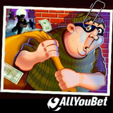 AllYouBet Introduces New Cash Bandits Slot Game with Casino Bonus and Free Spins