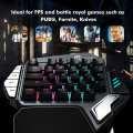 GameSir Z1 One Hand Gaming Keyboard with Battledock 5