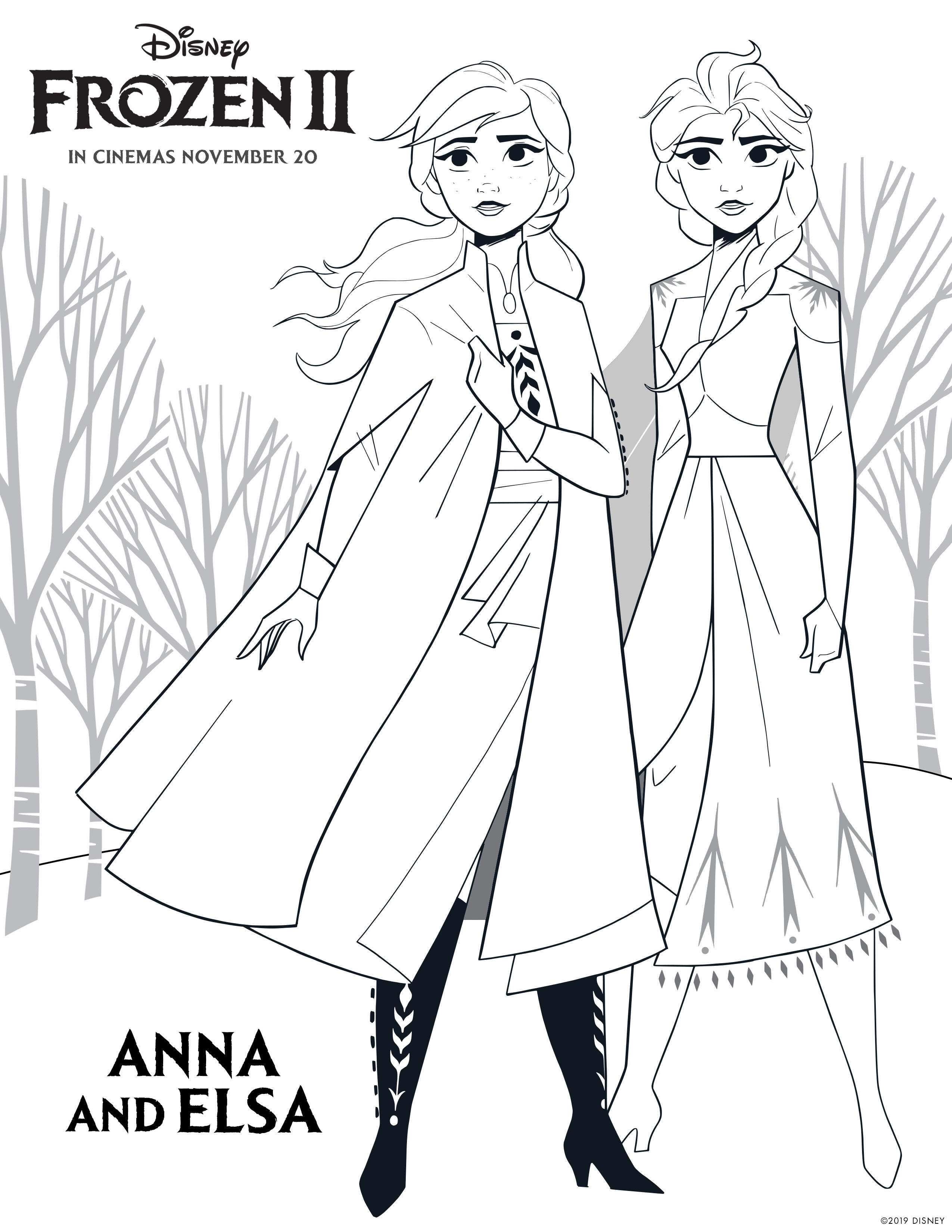 Bruni Frozen 2 Coloring Pages - Coloring Blog's