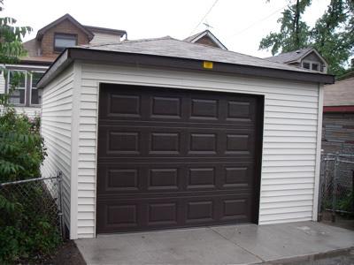 A new garage