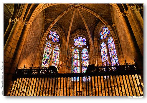 Capela radiante da Catedral de León #2 by VRfoto