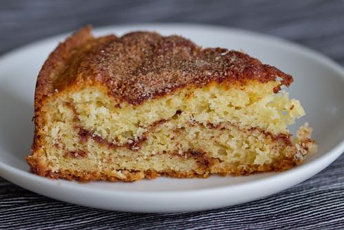 Kaneelikook. Cinnamon coffee cake.