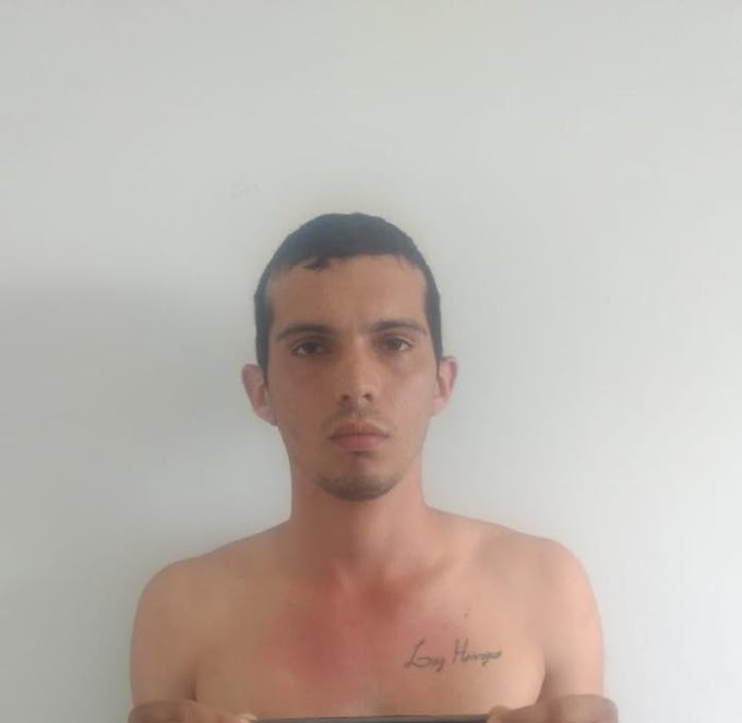 """""""PASSIONAL"""" - Polícia prende integrante de facção acusado de matar o namorado"""