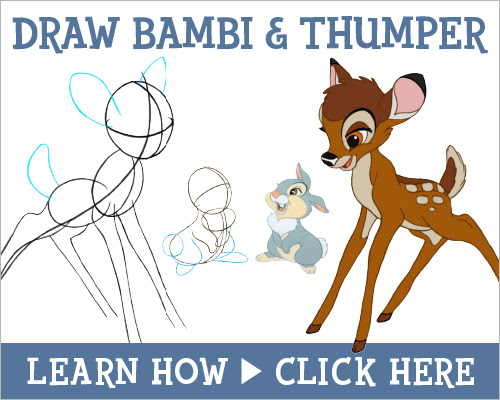 Download Bambi How-to-draw