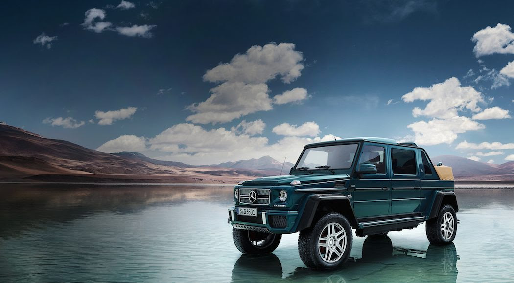 Mercedes-Maybach G650 Landaulet | The Coolector