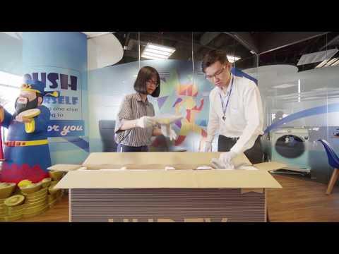 Unboxing TV Samsung 4K UHD RU7200