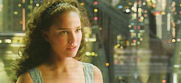 Padme consults Anakin after he awakes from a nightmare.