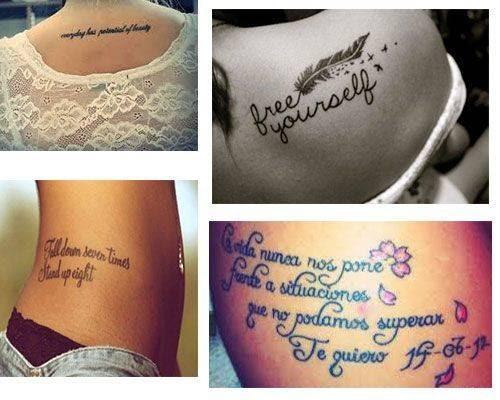 Tatuajes Para Mujer Frases Tatuajesparacom