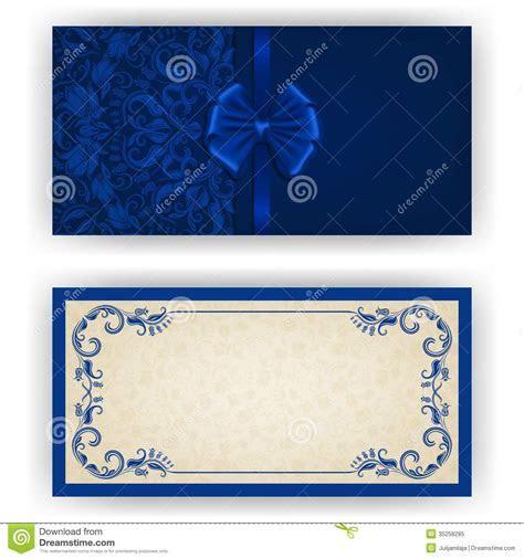 Wedding invitation background royal blue 13 » Background