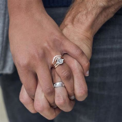 Engagement Ring vs. Wedding Ring   The Pearl Source