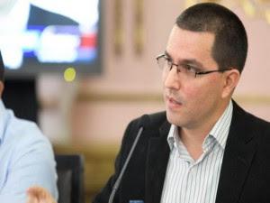 El Vicepresidente Ejecutivo, Jorge Arreaza