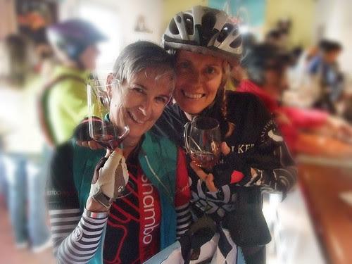 Giro d' Vino 2013 Tricia and BritPower