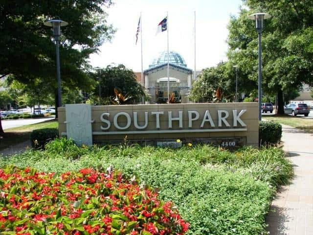 Image result for SouthPark Mall charlotte
