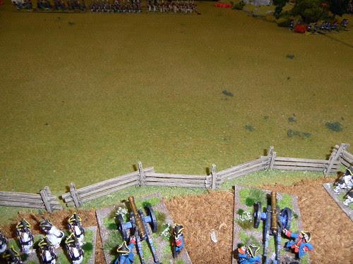 French guns taking aim