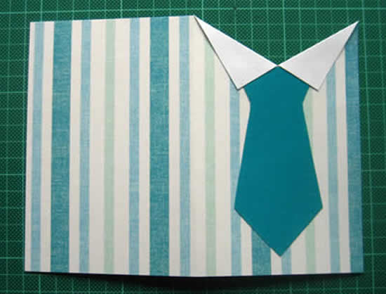 Cartãozinho especial para o Dia dos Pais na escola