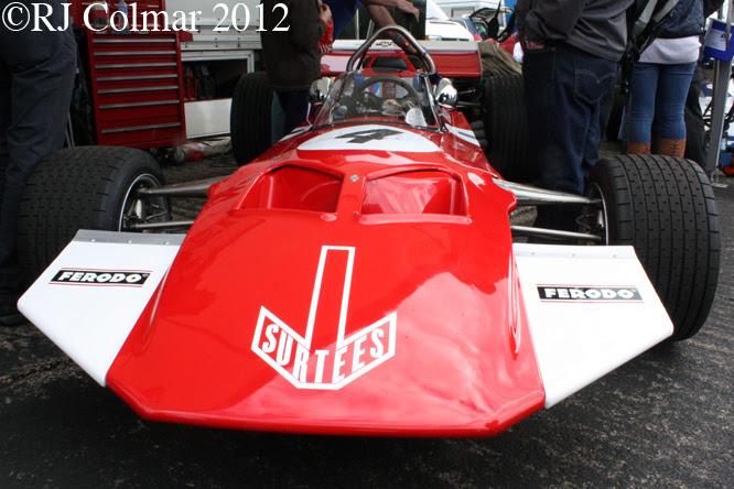 Surtees TS7, Wings & Wheels, Dunsfold