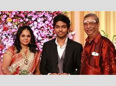 GV Prakash and Saindhavi Wedding Reception Pictures Photos   FilmiBeat