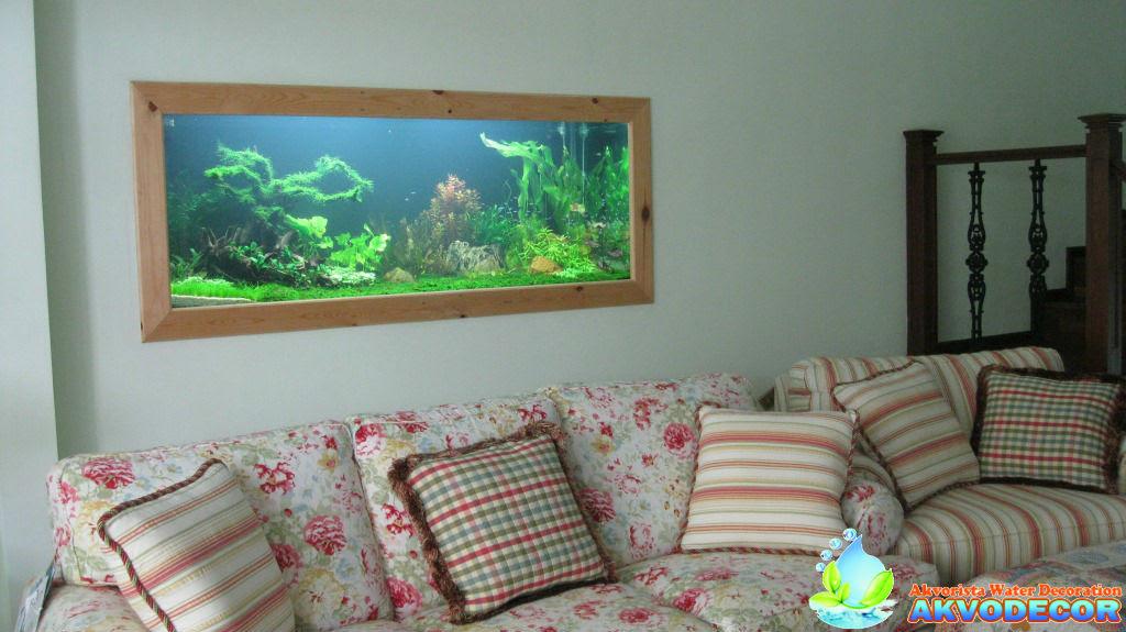 Aquarium Dinding Bekasi - Jasa aquarium dinding di bekasi