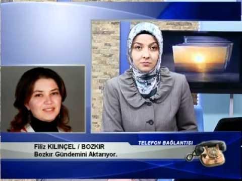 27 Mart Bozkır Gündemi - Konya Tv Haber Filiz Kılınçel