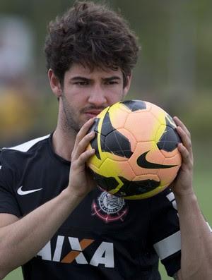 Alexandre Pato Corinthians (Foto: Daniel Augusto Jr/Agência Corinthians)