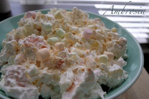ambrosia recipe dishmaps