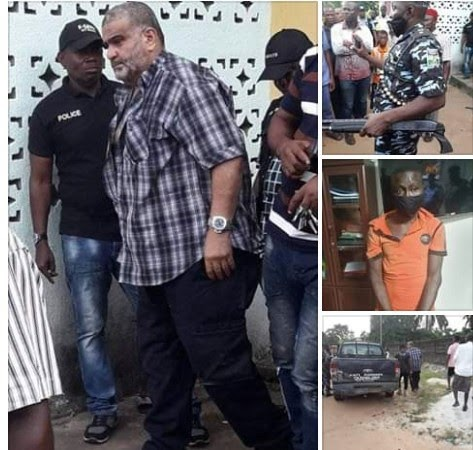 Police rescue Lebanese-born Nollywood actor Bilal Nosser 'Mr B' who was kidnapped in Rivers state (photos)