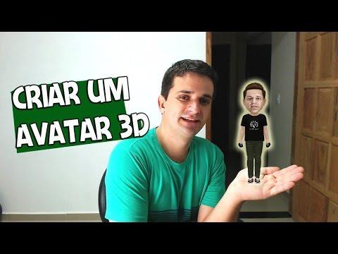 COMO CRIAR UM AVATAR 3D - TUTORIAL