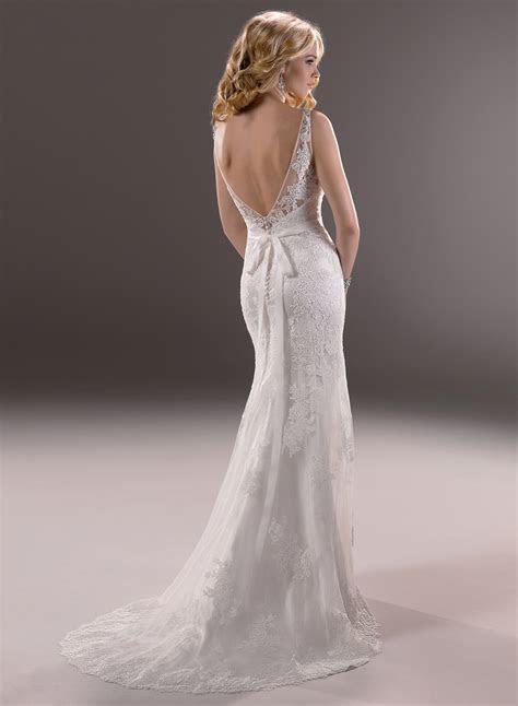 Designer Backless Wedding Dresses 1 1   Dresscab