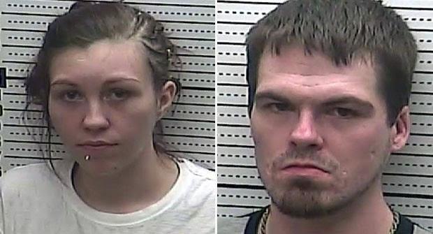 Eles foram levados para a cadeia do condado de Harlan. (Foto: Harlan County Detention Center)