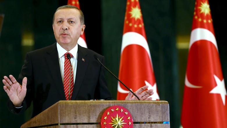Presiden Erdogan Serukan Perlawanan dan Minta Rakyat Turun ke Jalan