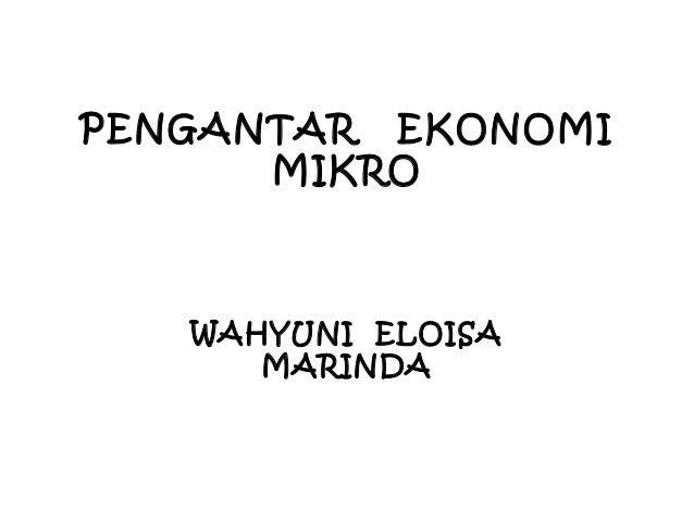 Contoh Soal Ekonomi Makro Mikro Contoh 36